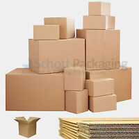SINGLE & DOUBLE WALL CARDBOARD BOXES - IDEAL FOR POSTAL REMOVAL MOVING - QUALITY