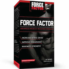 FORCE FACTOR PRE WORKOUT SUPPLEMENT INCREASE NITRIC OXIDE PREWORKOUT 120 CAPSULE