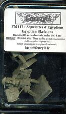 FENRYLL 1  BLISTER FM 117 SQUELETTES D'EGYPTIENS