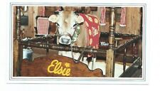 Elsie the famous Borden Cow Post Card 1970's 3-1/4 X 5-1/2 in