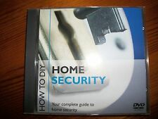 HOME SECURITY GUIDE DVD - MAKE YOUR HOME SECURE YOURSELF & SAVE A FORTUNE!!!