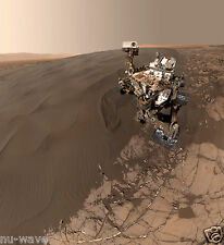 NEW self-portrait of NASA's Curiosity Mars rover shows the vehicle at Namib Dune