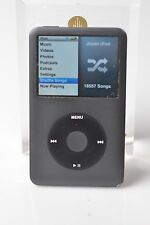 Black Apple iPod Classic 160Gb 7th Gen Exc Hard Drive Exc- Housing Flat Fedex