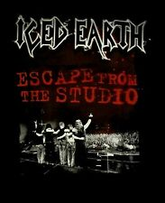 ICED EARTH cd lgo ESCAPE FROM THE STUDIO Official TOUR SHIRT LRG New OOP
