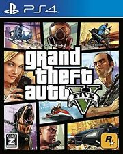 Grand Theft Auto V GTA 5 (Sony PlayStation 4, 2014) with booklets