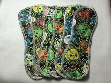 Set/6 Reusable Menstrual Panty liners  NWOT Momma Cloth (Lay-in Style)