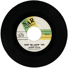 "JOHNNIE TAYLOR  ""KEEP ON LOVIN' YOU""  DEMO NORTHERN SOUL  LISTEN!"