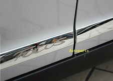 Stainless Steel Body door Side Molding trim Chrome For Ford FOCUS 2012 2013 2014