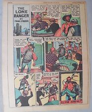 Lone Ranger Sunday Page by Fran Striker and Charles Flanders from 11/14/1943