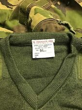 94cm army olive green jersey/jumper marines commando sas british paintballing