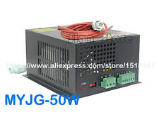 MYJG-50W 220V/110V 50W CO2 Laser Power Supply PSU DIY Engraving Cutting Machine