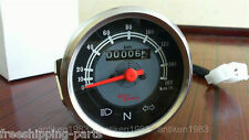Royal Enfield Motorcycle Speedometer 0-160 KPH Grey Facia
