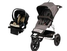 Mountain Buggy Urban Jungle Travel System in Flint with Protect Car Seat +Base!!