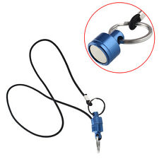 Brand Fly Fishing Strong Pull Release Magnetic Net Keeper Holder Tool Lanyard