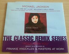 You Are Not Alone / Rock With You - Michael Jackson - Remix Series CD Single