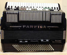 "FARFISA""SUPER""TRANSIVOX DOUBLE CASSOTTO-SCANDALLI HANDMADE REEDS-IN:SUPERB CON'D"