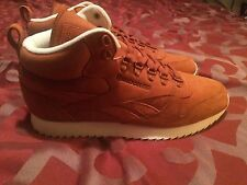 Reebok Classic Mid Outdoor Wheat ginger Beige Trainers New Shoes US 12 Eur 11.5