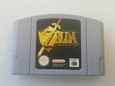 JUEGO NINTENDO 64 THE LEGEND OF ZELDA OCARINA OF TIME VERSION EUR