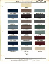 1941 1942 1946 OLDSMOBILE SPECIAL SPECIAL DYNAMIC CUSTOM PAINT CHIPS DITZLER 4