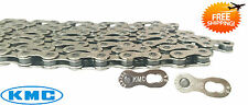 KMC X8.99 8 Speed Silver/Silver Bicycle Chain MTB/Road Bike for Shimano SRAM New