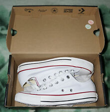 Brand New Unisex Converse All Star White Leather Low Top Size UK 5 Eur 37.5