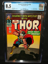 Journey Into Mystery #125 - Hercules App - Last Issue - CGC Grade 8.5 - 1966