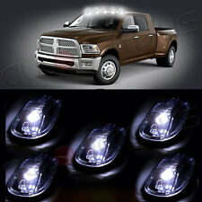 5pcs High Power LED Cab Roof Top Marker Running Clearance Light For Dodge