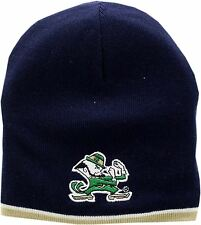 Notre Dame Fighting Irish Skull Knit Hat 2-Sided Lined