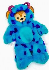 """New Disney Duffy Bear 17"""" Monsters University Sulley Sully Plush Costume Outfit"""