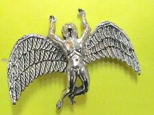 LED ZEPPELIN VINTAGE METAL LAPEL PIN NEW FROM LATE 80'S HEAVY METAL wow