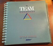 """1988 """"Team Handbook: How to Use Teams to Improve Quality"""" Scholtes (Paperback)"""