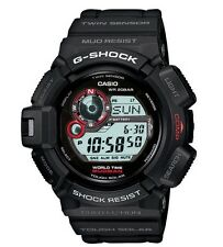 Casio G Shock * G9300-1 Solar Mudman Twin Sensor Compass Thermo COD PayPal