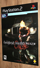 Twisted Metal Black very rare Promo Poster 84x59.5cm Playstation 2