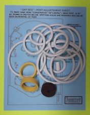 1970 Williams Gay 90's pinball rubber ring kit
