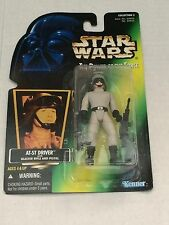 Kenner Star Wars Power Of The Force - At-St Driver With Blester Pistol And Blast