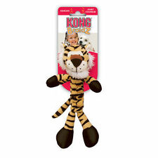 KONG BRAIDZ SMALL TIGER Dog Tug Toy - Cleans Teeth (BS3)