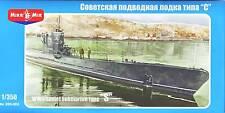 """Micro-Mir #350-002, 1/350, WWII Soviet submarine type """"S"""""""