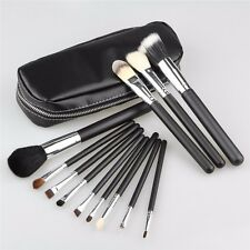 12 Pcs Professional Makeup Brush Set Bag Cosmetic Make Up with Case - Black