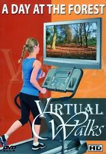 A DAY AT THE FOREST VIRTUAL WALK TREADMILL WALKING WORKOUT DVD AMBIENT COLL.