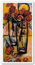 AFRICAN AMERICAN ART PRINT Dual Vases by Charly Palmer