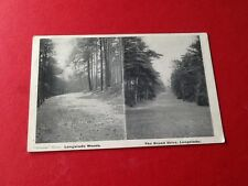 Old Postcard Longsdale Woods And The Broad Drive Lonsdale