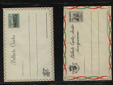 Angola  2  air  letter sheets  unused   1.50 and 2.50 agr          MS1207