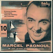 EP 4 TITRES--MARCEL PAGNOUL--PRINCESSE CSARDAS / L'HIRONDELLE