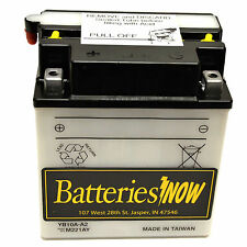 NEW YB10A-A2  AKA CB10A-A2 POWESPORT/ ATV  Battery with Acid Pack Free Shipping
