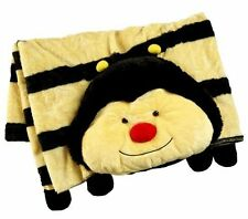 Pillow Pets Bumblebee Blanket Large