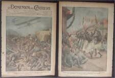 DOMENICA DEL CORRIERE 40/1918 WW1 SESTO MILANESE