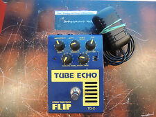 GUYATONE FLIP TUBE ECHO EFFECTS PEDAL VALVE DELAY  w/ADAPTER TD-X