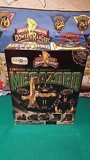 Mighty Morphin Power Rangers Legacy Black & Gold Dino Megazord