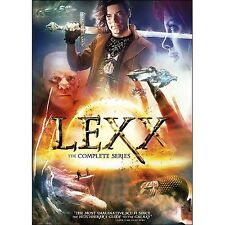 Lexx: The Complete TV Series Seasons 1 2 3 4 DVD Boxed Set NEW!