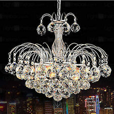 Flash European Luxury 3 Light Chandelier Crystal Balls Ceiling Light Fixture